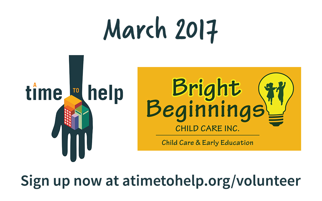 A Time to Help March 2017: COTS' Bright Beginnings