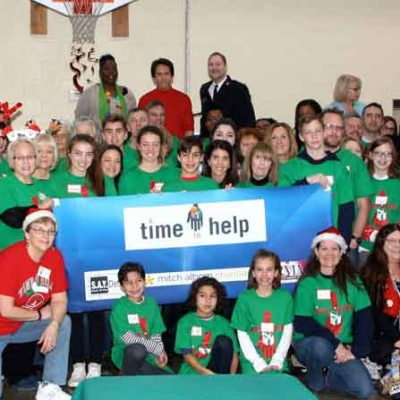 20th Christmas Party for shelter residents and children a holiday hit