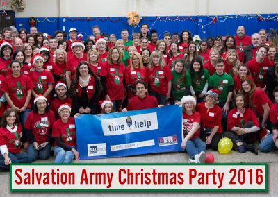 Volunteers Create Special Memories at Salvation Army Christmas Party 19