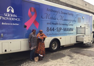 Mobile Mammography Center Visits S.A.Y. Detroit Family Health Clinic 3
