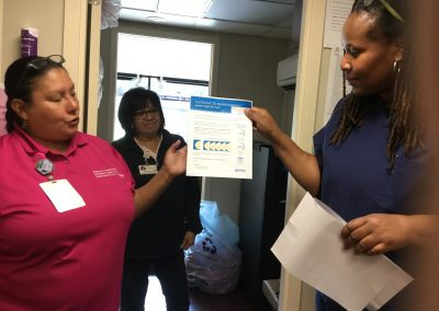 Mobile Mammography Center Visits S.A.Y. Detroit Family Health Clinic 1