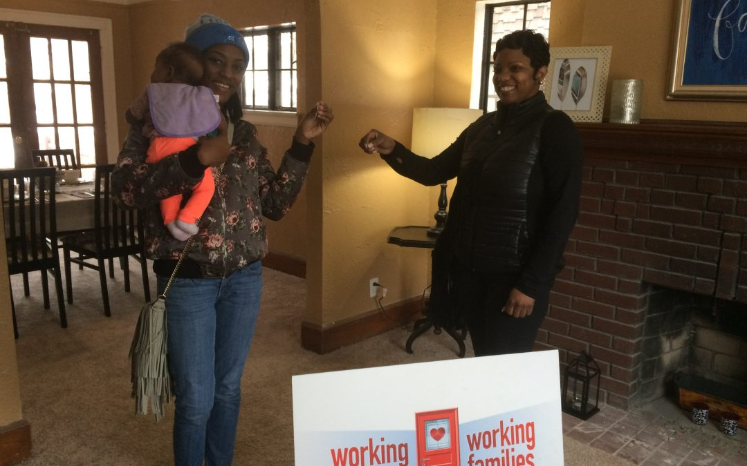 Morningside Neighborhood Gains Strength With Another Family