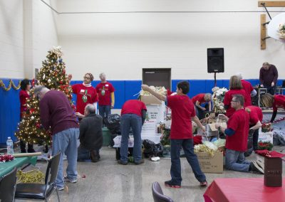 Volunteers Create Special Memories at Salvation Army Christmas Party 1