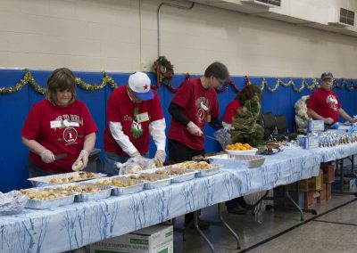Volunteers Create Special Memories at Salvation Army Christmas Party 2