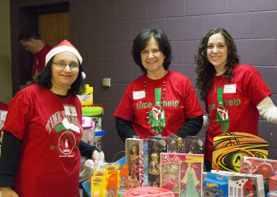 Volunteers Create Special Memories at Salvation Army Christmas Party 6