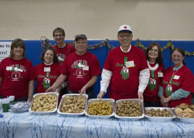 Volunteers Create Special Memories at Salvation Army Christmas Party 9