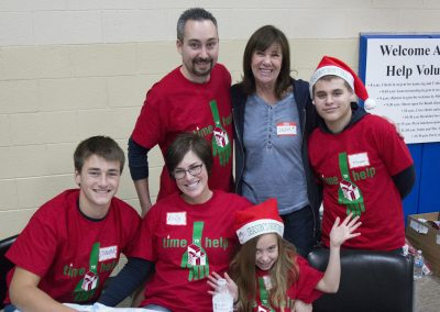 Volunteers Create Special Memories at Salvation Army Christmas Party 11