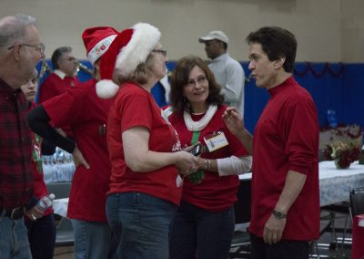 Volunteers Create Special Memories at Salvation Army Christmas Party 12