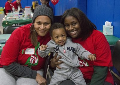 Volunteers Create Special Memories at Salvation Army Christmas Party 13