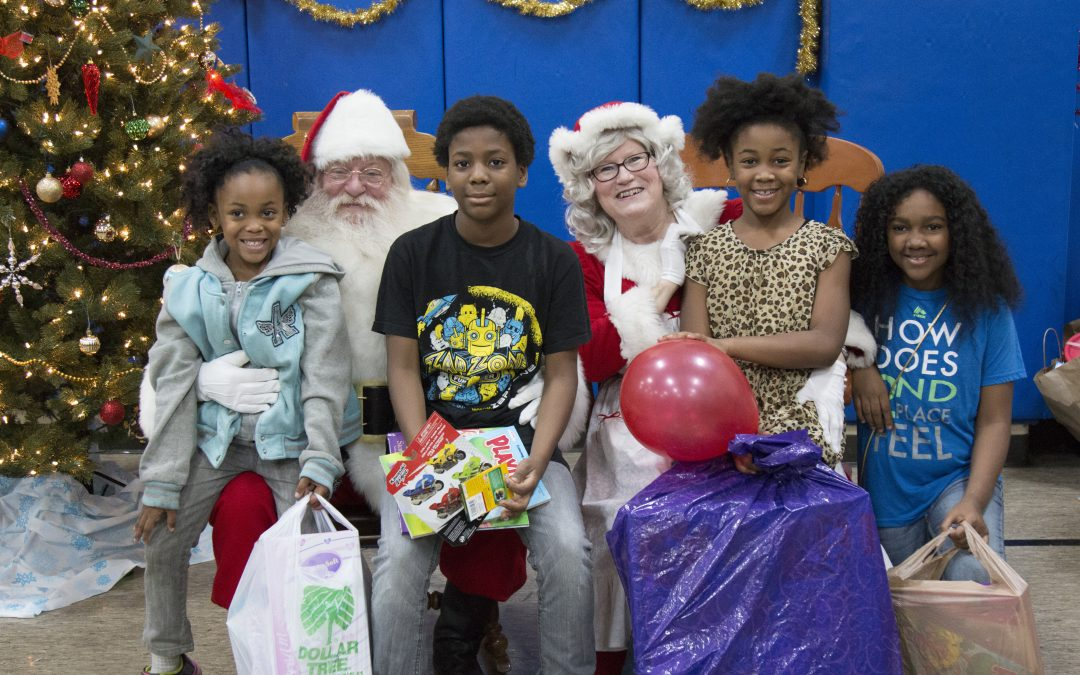 Volunteers Create Special Memories at Salvation Army Christmas Party