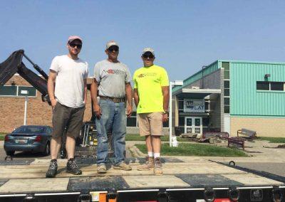 Albaugh Masonry Tackles Large Project at SAY Play Center 1