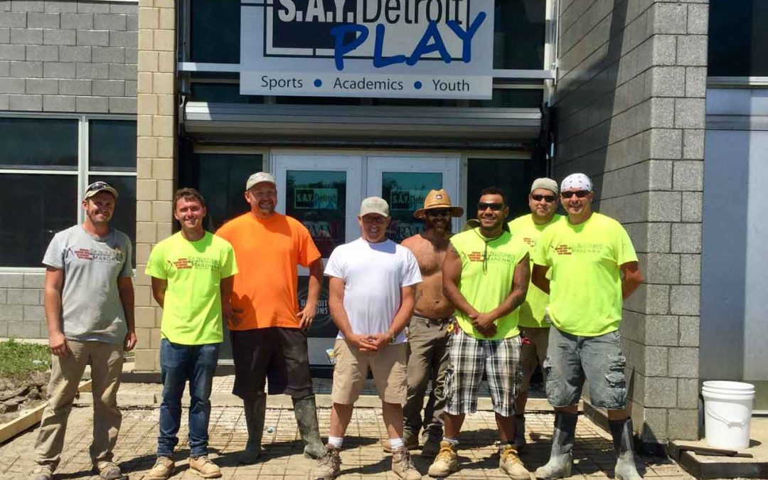 Albaugh Masonry Tackles Large Project at SAY Play Center