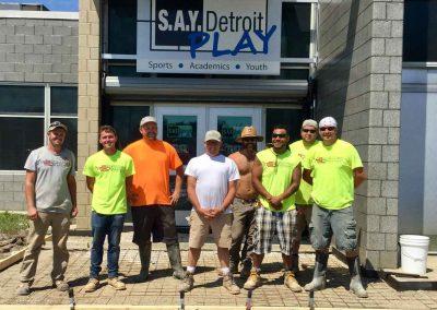 Albaugh Masonry Tackles Large Project at SAY Play Center 2