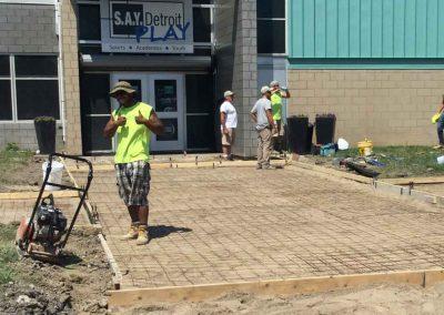 Albaugh Masonry Tackles Large Project at SAY Play Center 6