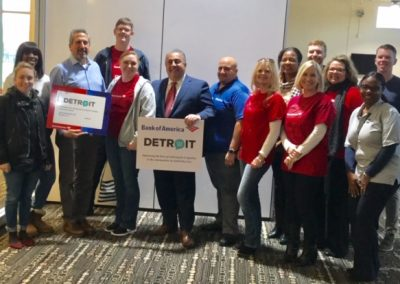 Bank of America Supports SAY Detroit Initiatives 5