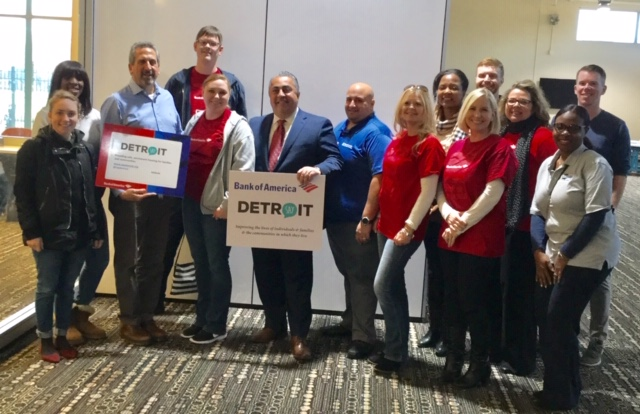 Bank of America Supports SAY Detroit Initiatives