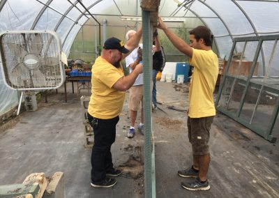 Urban farm yields bountiful time for ATTH volunteers 5