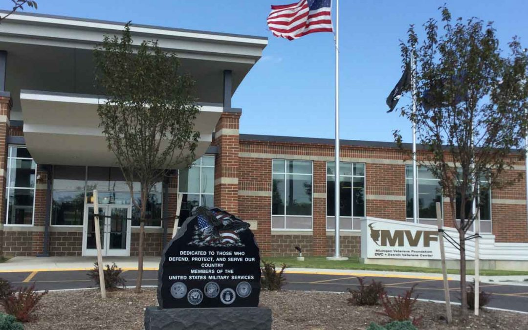 Touring a Special Center Devoted to Michigan's Veterans