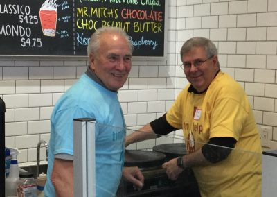 Michigan Masons Volunteer Clean Up at Detroit Water Ice