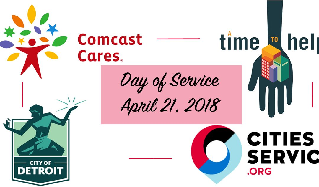 A Time to Help During a Day of Service – April 2018