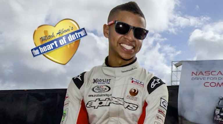 Armani Williams is Racing for Autism