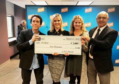Sharing the Giving: More than $1 Million Given to Detroit Charities 21