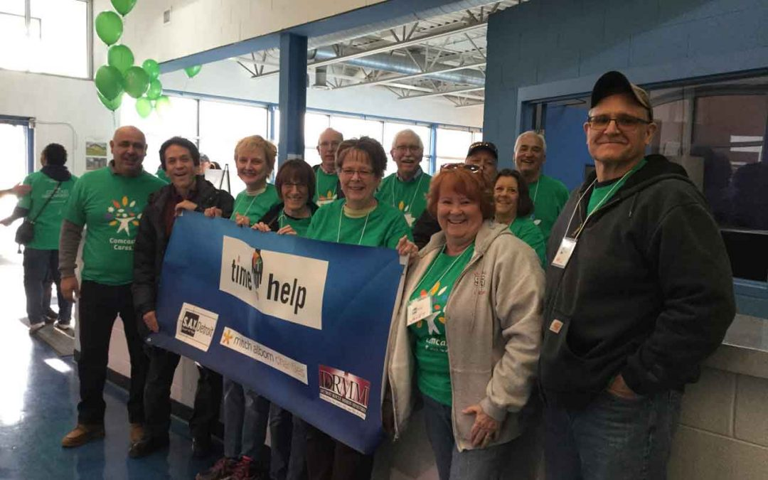 A City in Service on Comcast Cares Day