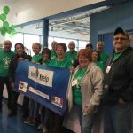A Time to Help volunteers at Comcast Cares Day