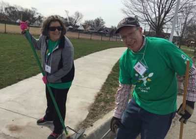A City in Service on Comcast Cares Day 11