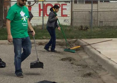A City in Service on Comcast Cares Day 15