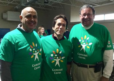 A City in Service on Comcast Cares Day 4