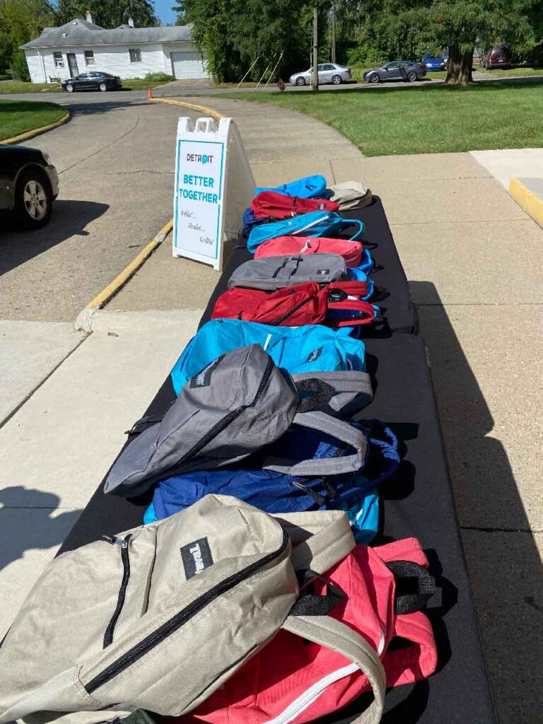 Helping Back-to-School Prep with Backpack Giveaways 2