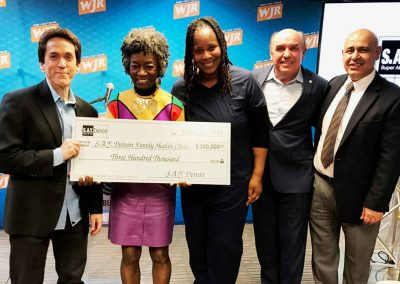 Sharing the Giving: More than $1 Million Given to Detroit Charities 16