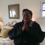 Great-grandmother and her working family receive a new home after 8 months in a shelter