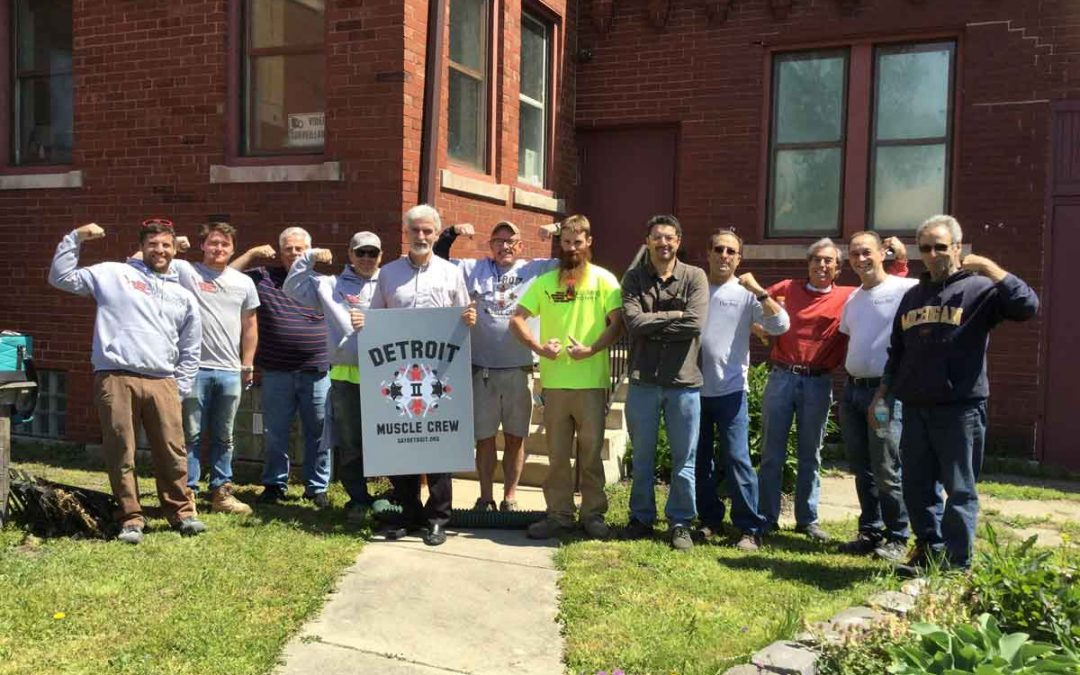 DMC Update 3 from St. Anthony's: Skilled Tradespeople Come Together