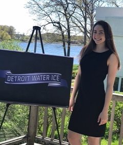 Tori Weingarten Places in Forensics Competition Using Detroit Water Ice