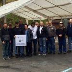 "Michigan Masons ""raise the tent'' at Franklin Cider Mill for Summer 2019 3"