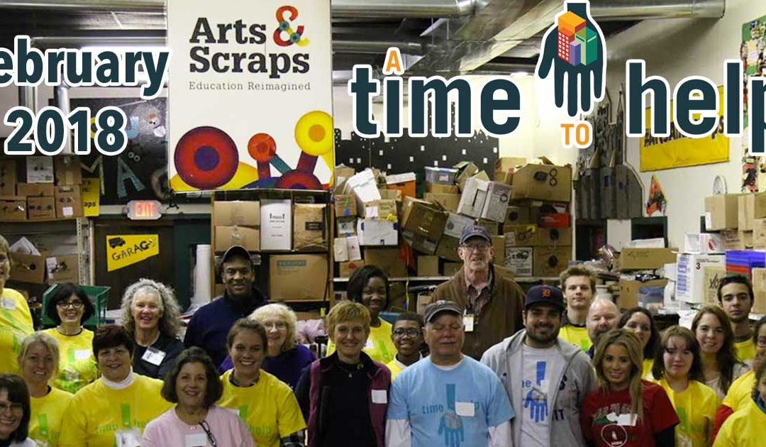 A Time to Help Reimagine Education with Arts & Scraps – February 2018