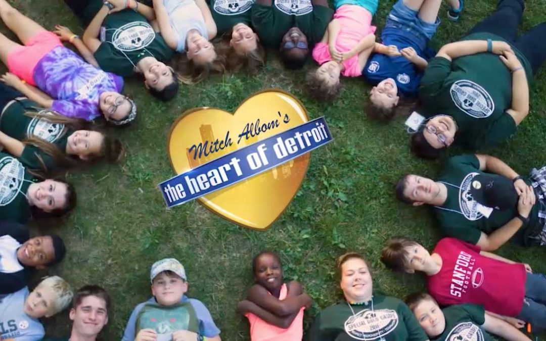 Siblings Sharing Special Days at Camp in the Heart of Detroit
