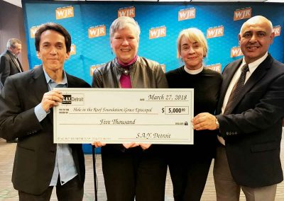 Sharing the Giving: More than $1 Million Given to Detroit Charities 13