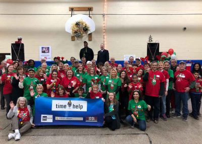 Kicking Off Holiday Season With A Magical Party For The Salvation Army 1