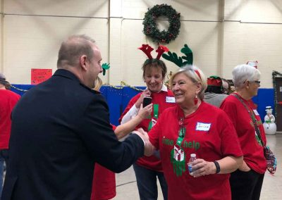 Kicking Off Holiday Season With A Magical Party For The Salvation Army 20