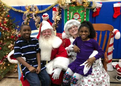 Kicking Off Holiday Season With A Magical Party For The Salvation Army 27