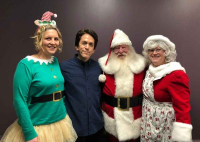 Kicking Off Holiday Season With A Magical Party For The Salvation Army 3
