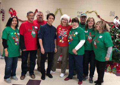 Kicking Off Holiday Season With A Magical Party For The Salvation Army 6