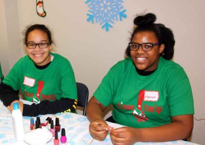 20th Christmas Party for shelter residents and children a holiday hit 8
