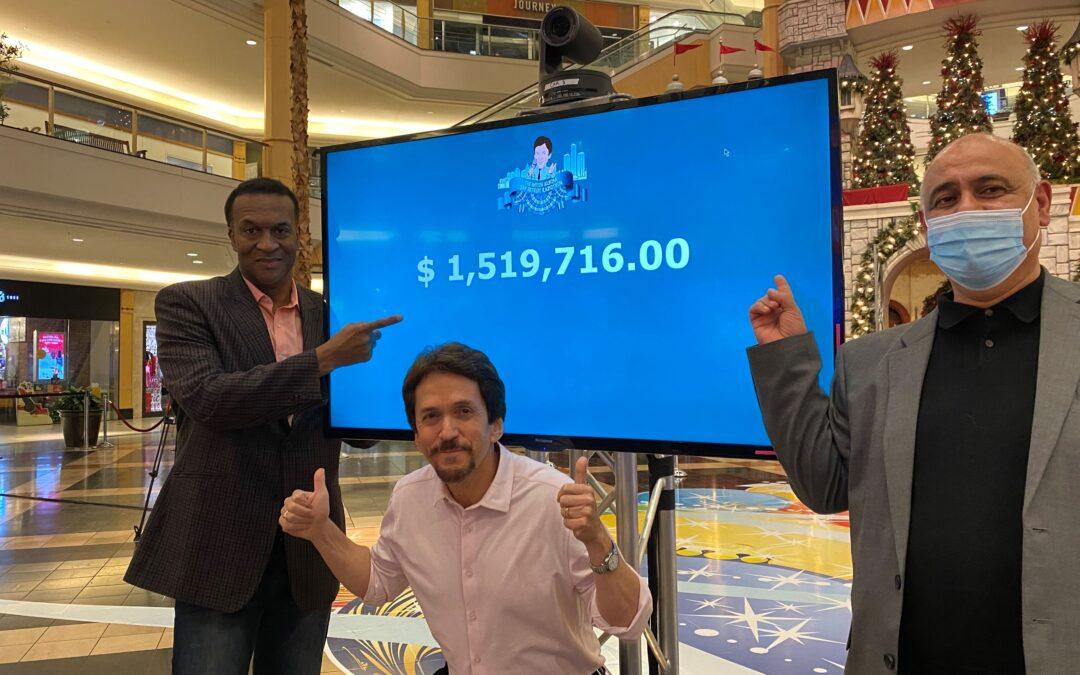 Record-Breaking Radiothon Raises $1.5 Million