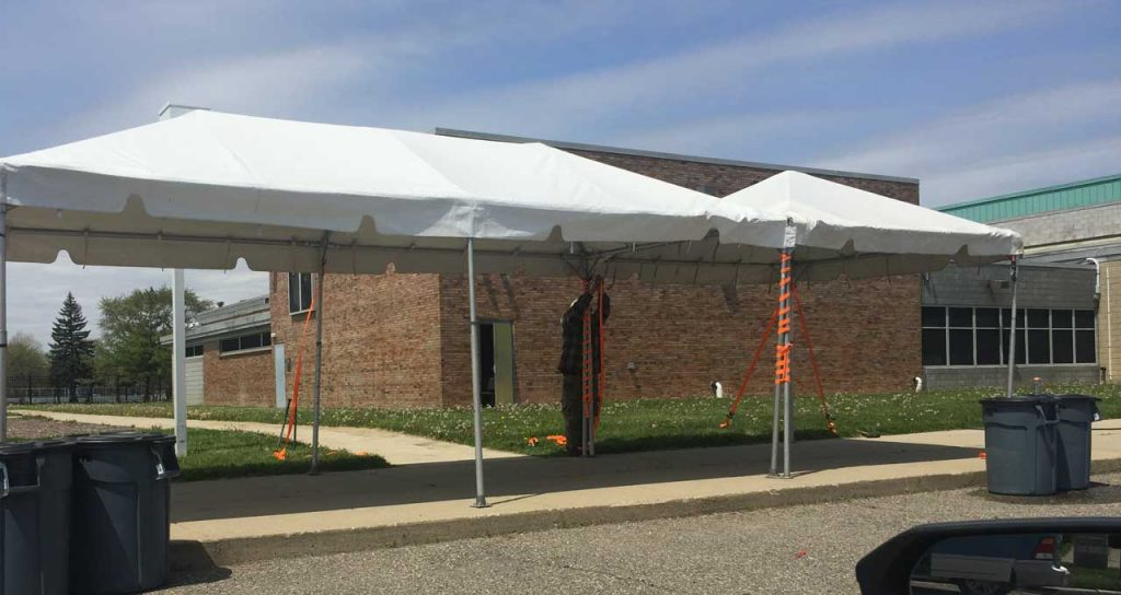 COVID-19 Mobile Testing Center Opens at SAY Clinic in Highland Park // UPDATE 1