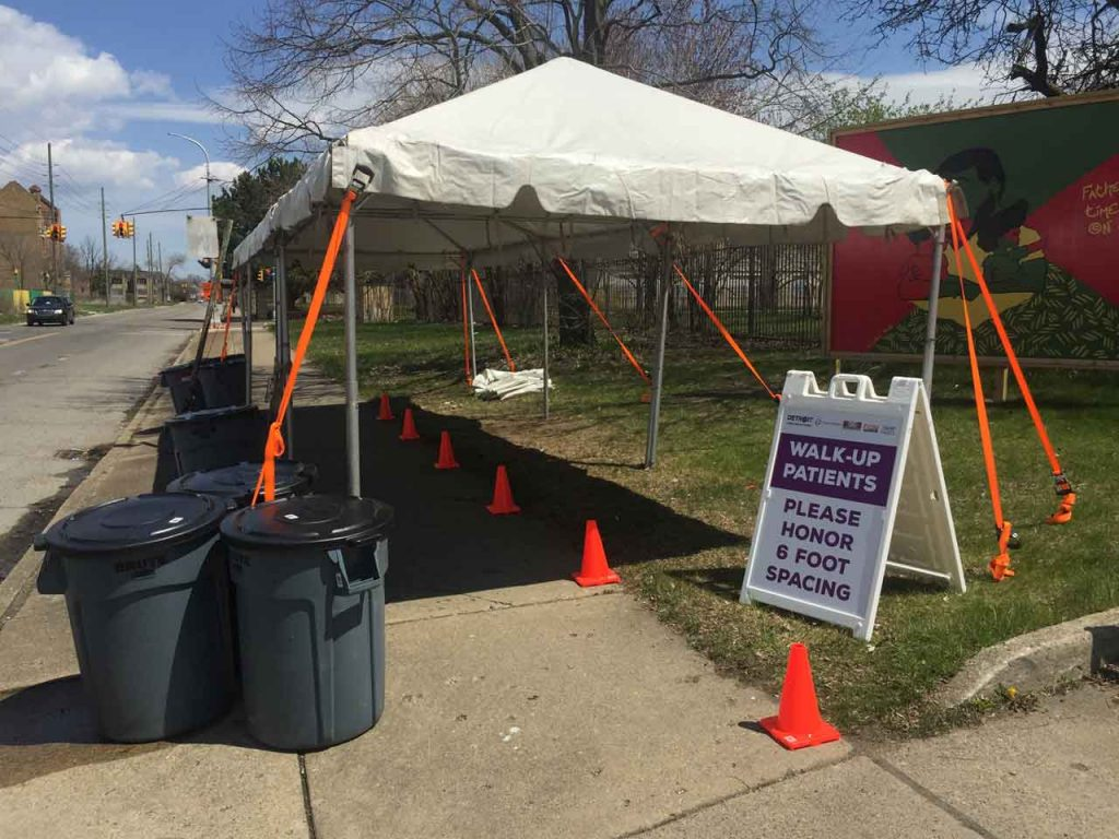 COVID-19 Mobile Testing Center Opens at SAY Clinic in Highland Park // UPDATE 8