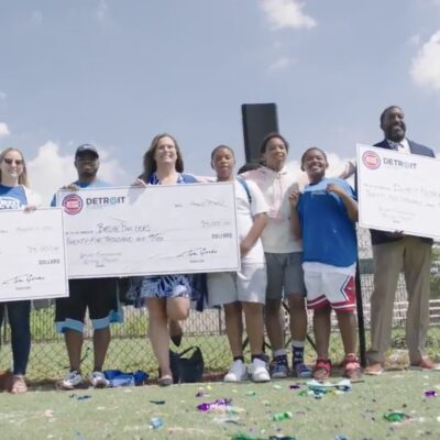 SAY Play Youth Pay It Forward with Gift from Tom Gores